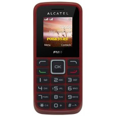 Alcatel OT1010D deep red