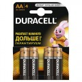 Батарейка AA Duracell LR6-4BL Basic 4шт