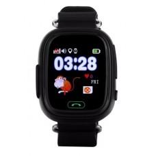 Часы Smart Baby Watch Q80 черный