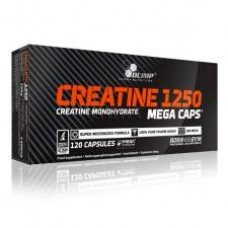 Creatine 1250 Mega Caps, 120 caps