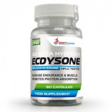 Ecdysone / Экдизон / Экдистерон / 60 капс по 100 мг